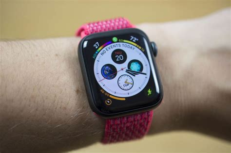 Apple Series 4 Of 6 by Apple Series 4 Review A Bigger Better Watchos Experience Ars Technica