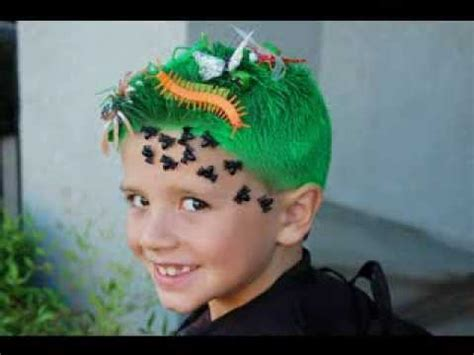 crazy hair ideas for 5 year olds boys crazy hair day ideas for boys youtube