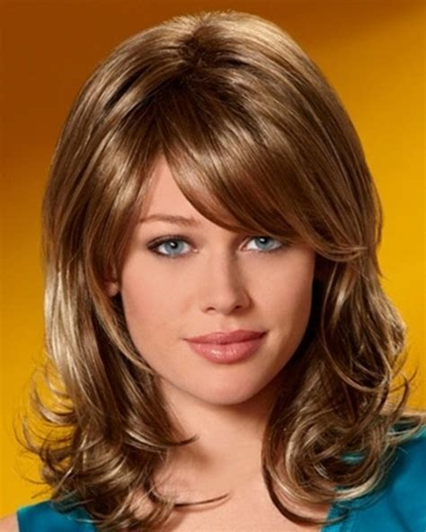 hairstyles bangs medium length hair medium length hairstyles with bangs