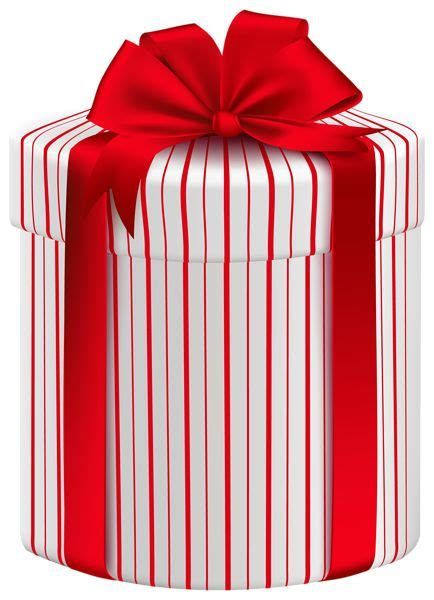 large gift box with red bow png clipart image gift