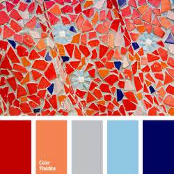Blue And Red Color Combination Dark Blue Color Palette Ideas