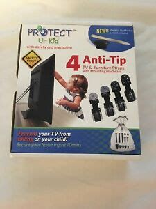 tv furniture anti tip safety anchor straps earthquake