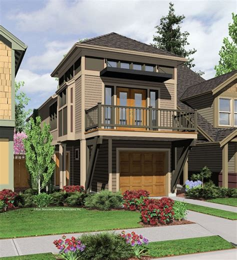 Build A Small House In Very Narrow Lot In Virginia Joy House Plans For Narrow Lots With A View