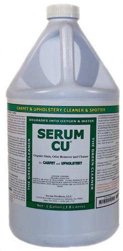 serum system serum cu organic cleaner spot remover for carpet upholstery circle chemical