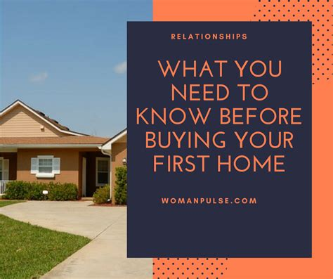 what to buy for your first house to know before buying a house what you need to know before buying your first home