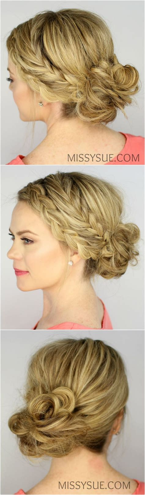 fishtail braid history the 25 best braided messy buns ideas on pinterest