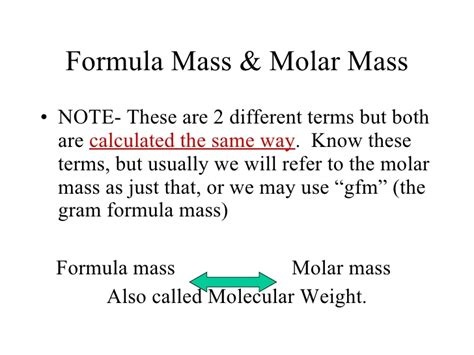 Credit Management Formula Calculating Molar Mass 100 Images Empirical Formulas Ap Chemistry Notes Molar Mass