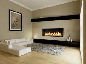 fireplaces contemporary living room modern floating