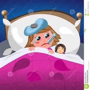 malade et triste dans le lit photo stock