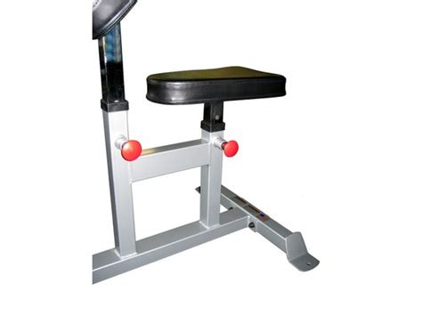 bench curl force usa seated preacher curl bench