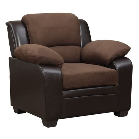 Microfiber Accent Chair Features