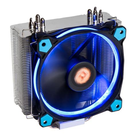 thermaltake riing silent 12 blue cpu cooler 120mm cptt