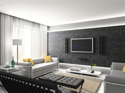 wallpapers for rooms wallpaper design for living room that can liven up the room inspirationseek