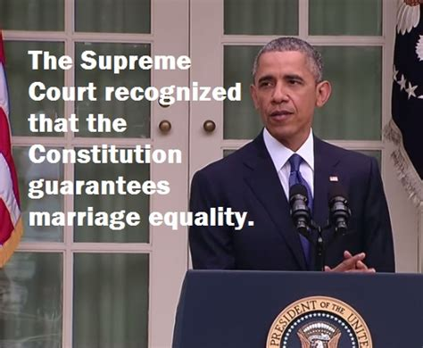 marriage supreme court decision barack obama supreme court s decision on marriage equality