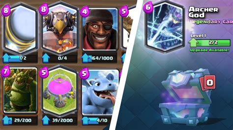 Clash Royale Gift Card - clash royale 18 new card update ideas sparky v 2 archer god more legendary