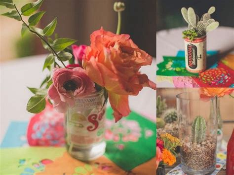 Fiesta Mexican Themed Wedding Inspiration B Lovely Events Mexican Centerpieces Ideas
