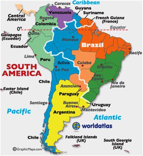 mapa de fusos horários da américa do sul