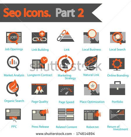 Seo Technology 2 by Link Building Stock Vectors Images Vector