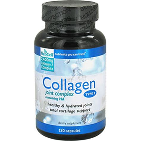 Collagen Complex neocell collagen joint complex type 2 120 capsules