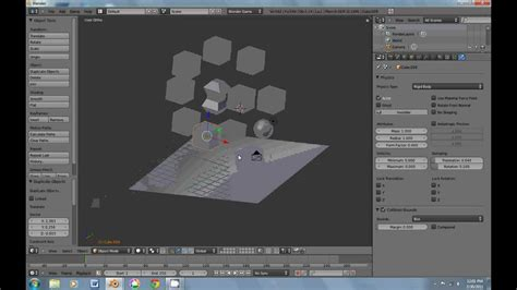 tutorial blender game tutorial how to easily simulate physics in blender by