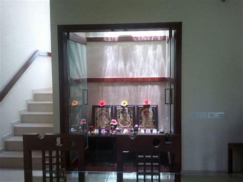 Pooja Room Designs in Living Room   Pooja Room   Pooja