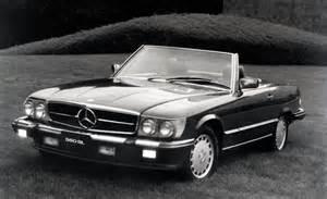 1986 Mercedes 560 Sl Car And Driver