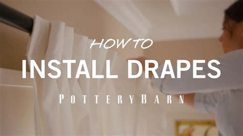 how to install drapes how to install drapes youtube
