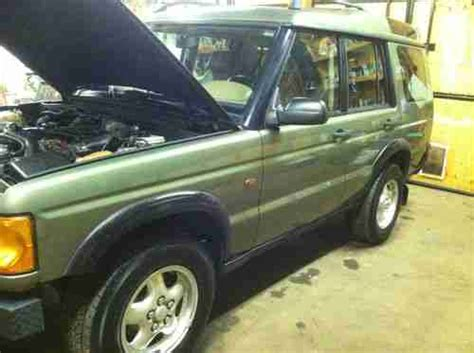 2000 land rover mpg purchase used 2000 land rover discovery ii diesel leather