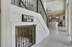 Hallway Wall Decor Stylish Dog Crates So Your Cute And Furry Friend Can