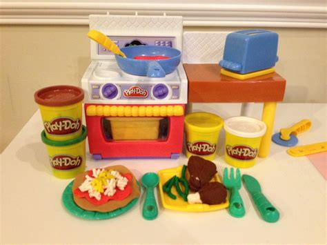 Play Doh Kitchen Set Play Doh Meal Makin Kitchen How To Make Play Doh Pizza