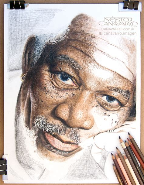 Drawing 4 Hours A Day by My 50 Hour High Detail Drawing Of Freeman In Color