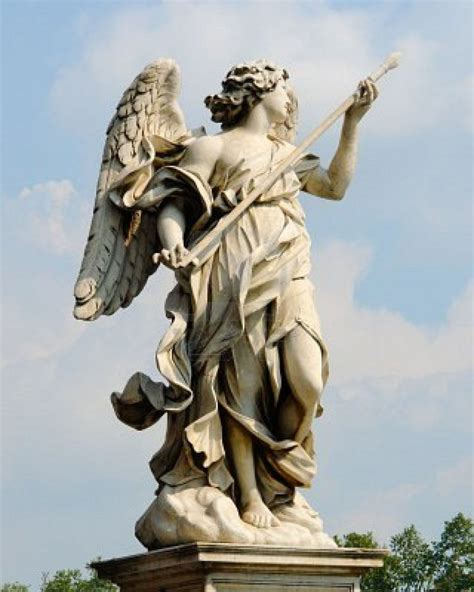 angel sculptures gian lorenzo bernini rome angels pinterest