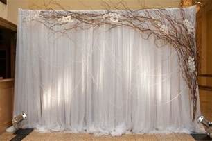 wedding backdrop wedding backdrops with branches vintage backdrop with branches event planning future career