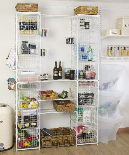 elfa pantry ultimate elfa pantry storage unit home storage systems