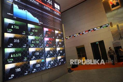 Harga Efek Me 25 ihsg melemah terimbas laporan kinerja emiten republika