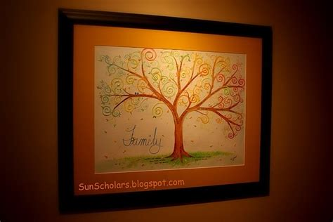 Handmade Family Tree Ideas - family tree ideas gifts