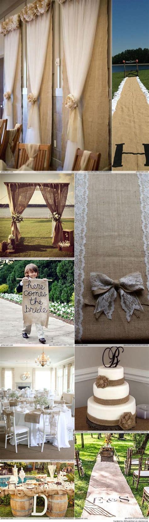 25  best ideas about Hessian wedding on Pinterest   Rustic