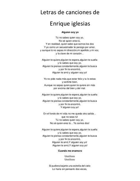 la cancion de los letras de canciones