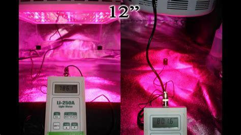 grow led le led grow light review hydro grow led vs prosource