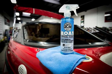 boat plastic glass cleaner chemical guys mbw10816 marine and boat optical clean