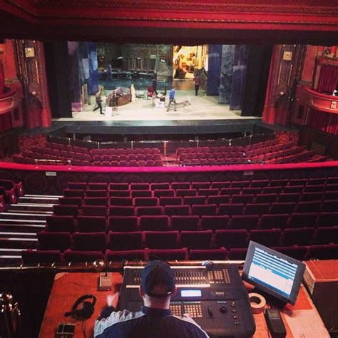 Administration Office Floor Plan by Edinburgh Playhouse Theatre Tour Review