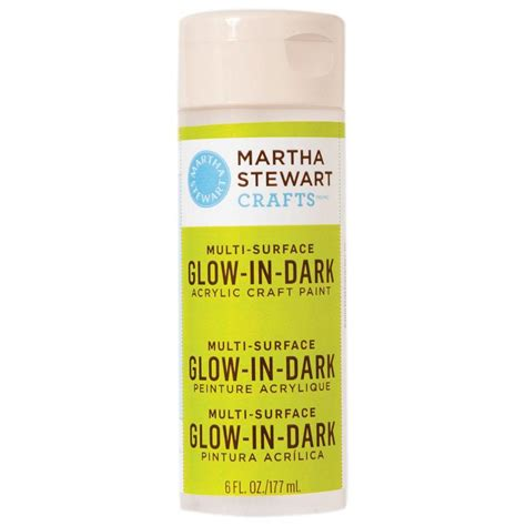 glow in the spray paint yellow martha stewart crafts 6 oz yellow multi surface glow in