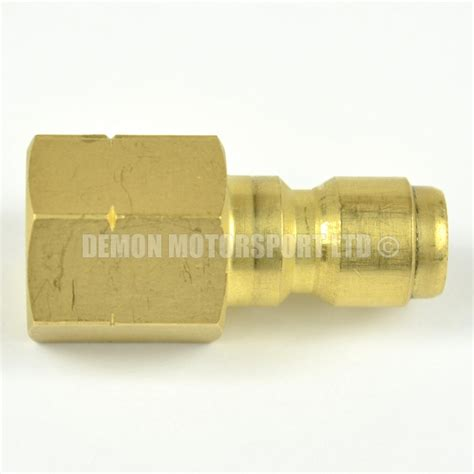 Fitting Reusable 6mm jet wash release mini 11 6mm to 1 4