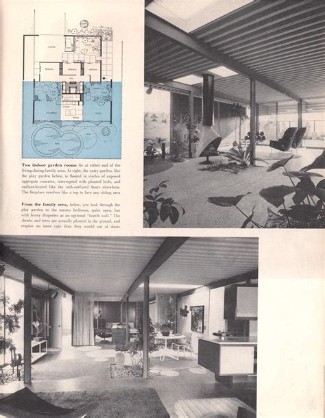 home design articles eichler magazine article living for homemakers feb 1957
