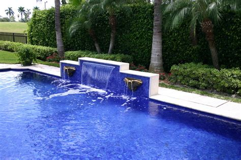 Onyx Tiles Bathroom by Glass Tile Waterfall Eclectic Pool Miami By