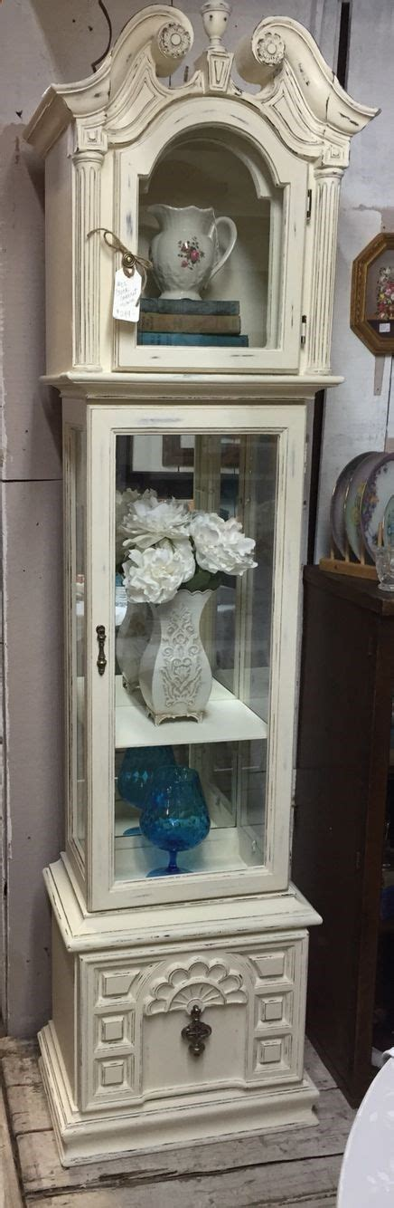 shabby chic grandfather clock 16 best clock repurposed images on pinterest painted