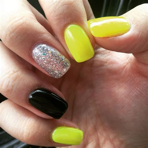 Nägel Gelb by Yellow Gel Nails 2016 Nail Styling