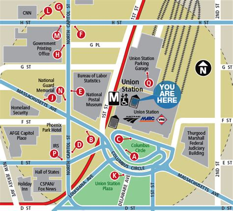washington dc terminal map washington dc map union station maps of usa