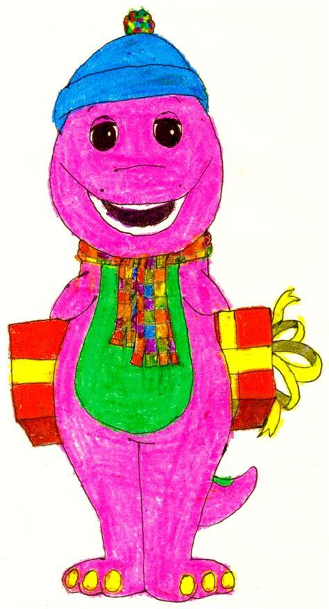 Barney Backyard Gang Waiting For Santa Barney S Got A Present By Bestbarneyfan On Deviantart