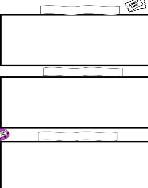 templates for entrance or exit slips for free